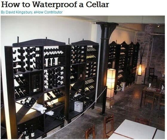Waterproof Cellar